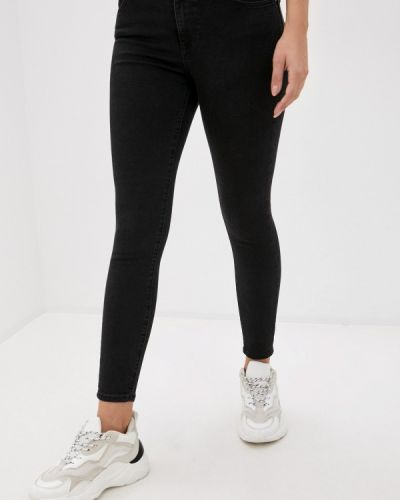 Черные джинсы-скинни узкого кроя Mavi