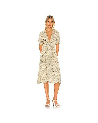 Платье на пуговицах на молнии Faithfull The Brand
