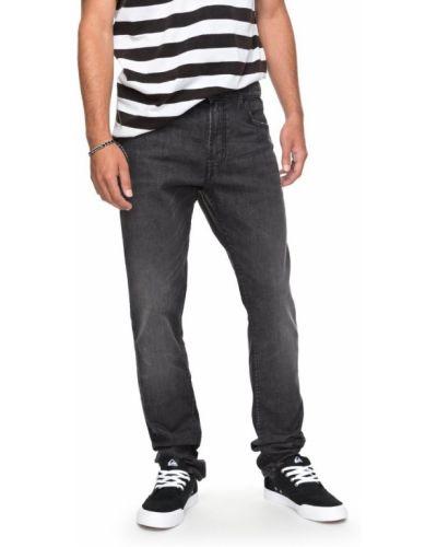 Серые прямые джинсы Quiksilver