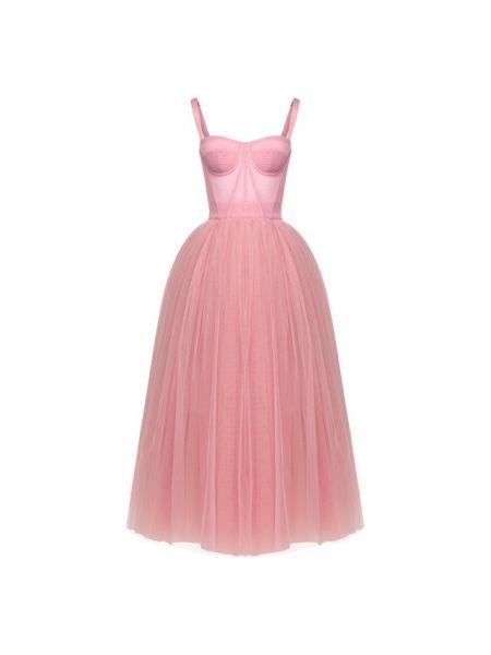 Платье клубное прозрачное Dolce & Gabbana