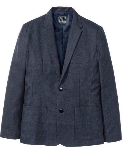Костюм с карманами темно-синий Bonprix