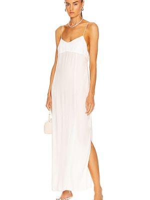Белое платье из вискозы Haight