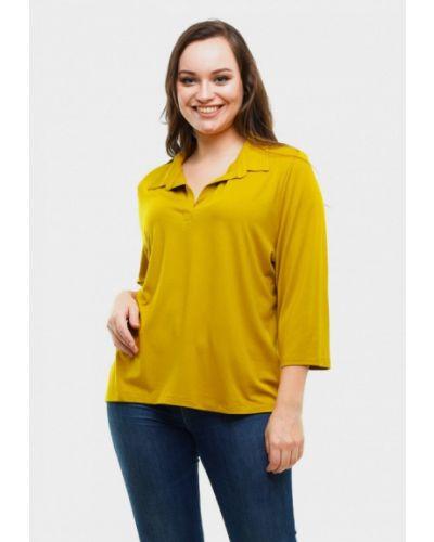 Блузка осенняя желтый Magwear