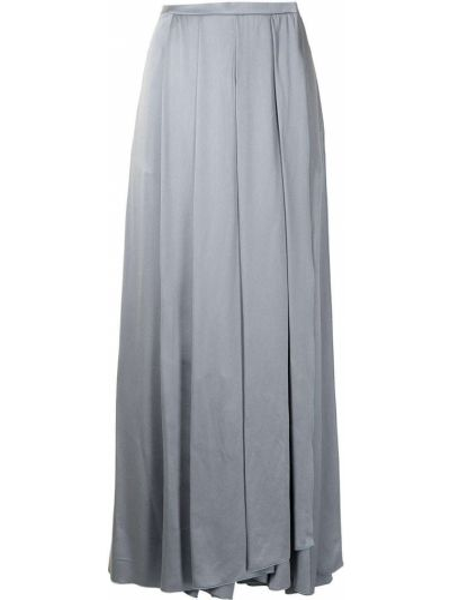 Синяя юбка со складками Giorgio Armani