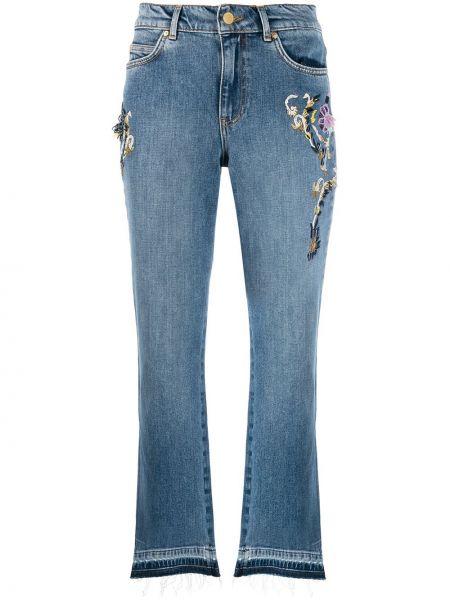 Укороченные джинсы - синие Escada Sport