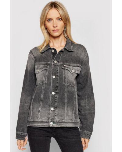 Kurtka jeansowa - szara Tommy Jeans