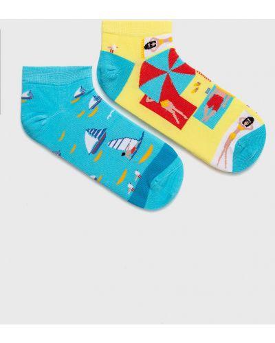 Желтые носки More
