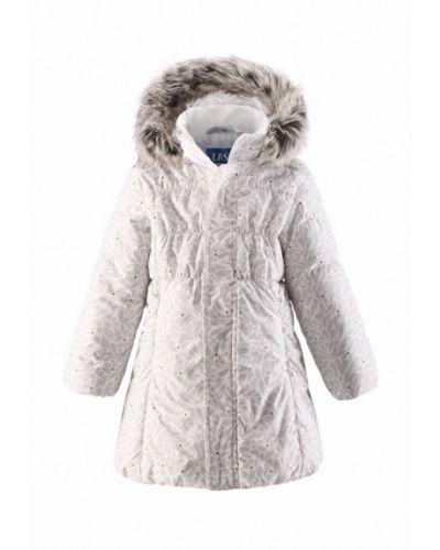 Бежевая куртка теплая Lassie By Reima