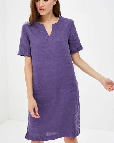 Фиолетовое платье прямое Iwie