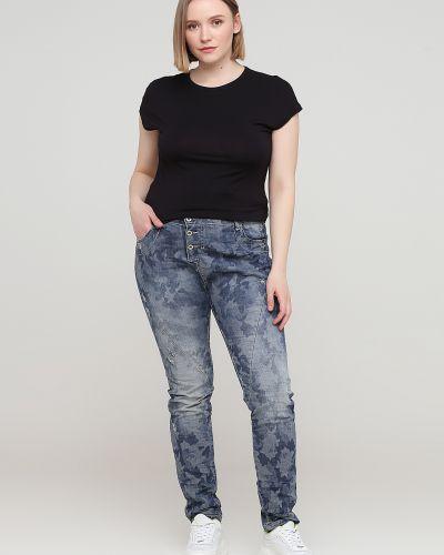 Синие джинсы с карманами Please