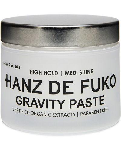 Czerwony pasta do włosów przezroczysty z granatem Hanz De Fuko