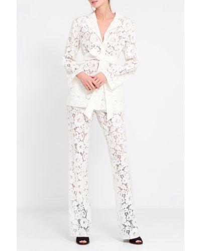 Шелковый костюм - белый A La Russe