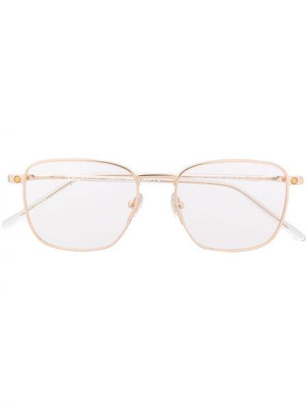Oprawka do okularów metal złoto Snob