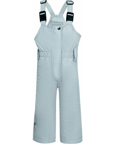 Голубые брюки утепленные Poivre Blanc