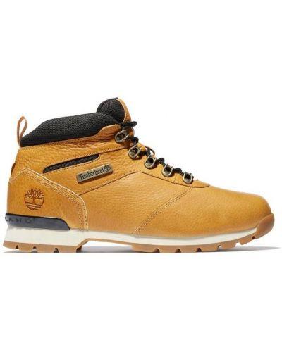 Кожаные ботинки - желтые Timberland