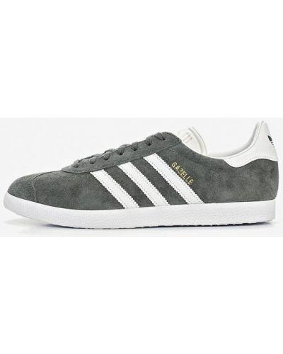 Серые низкие кеды Adidas Originals