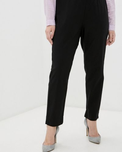 Прямые черные брюки Rosa Thea