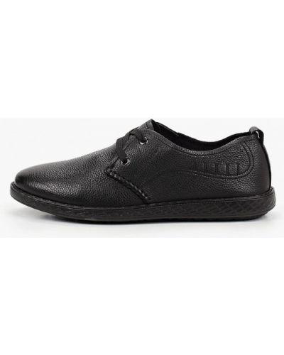 Черные кожаные ботинки Dino Ricci Trend