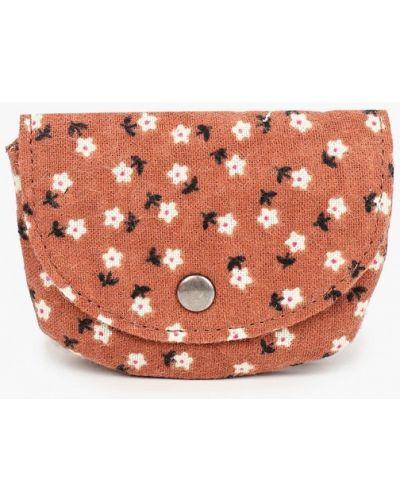 Текстильная коричневая сумка Mango Kids