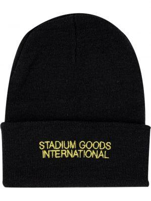 Czapka zimowa z haftem z logo Stadium Goods