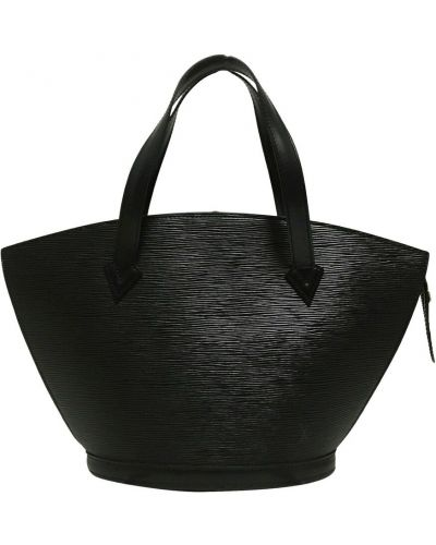 Czarny pasek Louis Vuitton Vintage