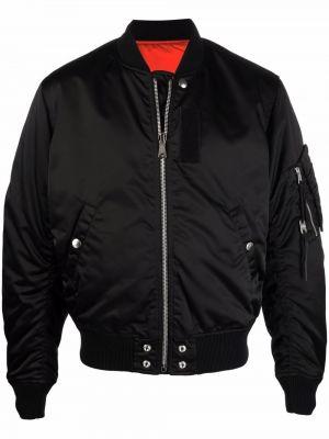 Черная хлопковая куртка Diesel