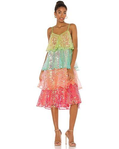 Хлопковое платье на бретелях с подкладкой Sundress