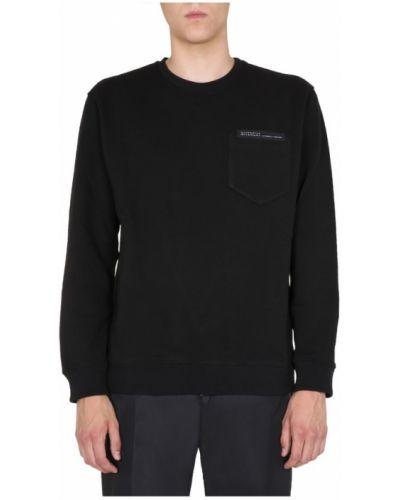 Prążkowana bluza z długimi rękawami bawełniana Givenchy