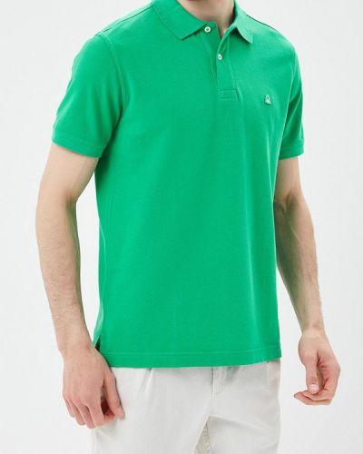 Зеленое поло United Colors Of Benetton