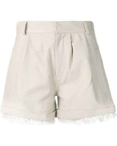 Однобортные шорты с карманами Federica Tosi