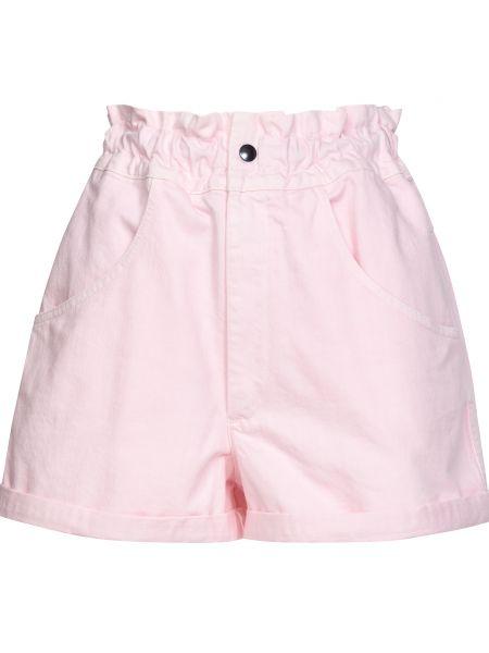 Хлопковые шорты - розовые Forte Couture