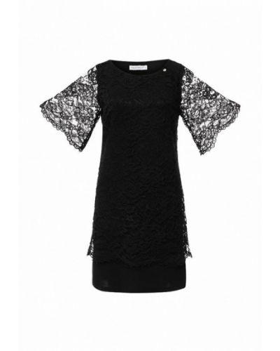 Черное вечернее вечернее платье Rinascimento