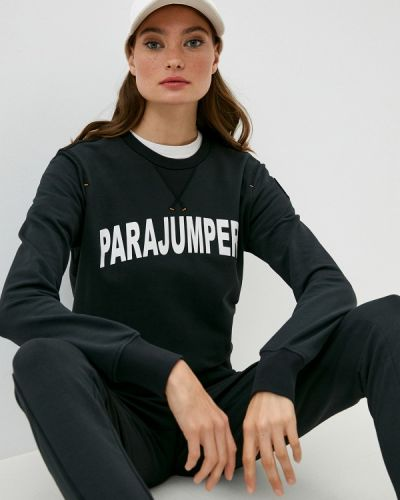 Черный свитшот Parajumpers