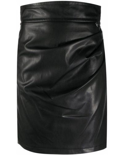 Черная прямая с завышенной талией юбка Twin-set