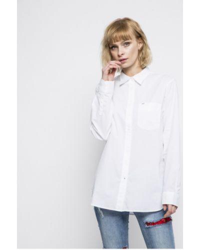 Белая блузка классическая Lee