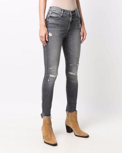 Черные джинсы на молнии Mother