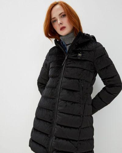 Зимняя куртка черная осенняя Blauer
