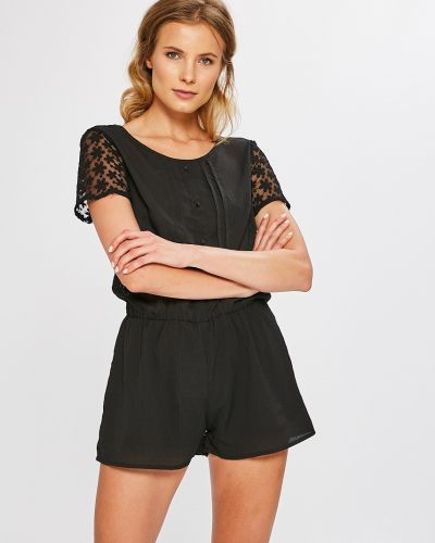 Черный комбинезон Answear