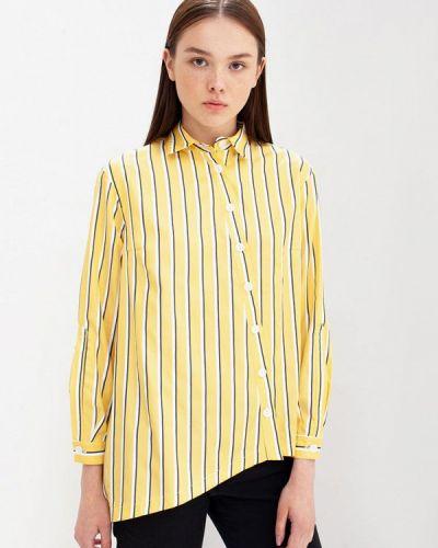 Блузка с длинным рукавом желтый весенний Evercode