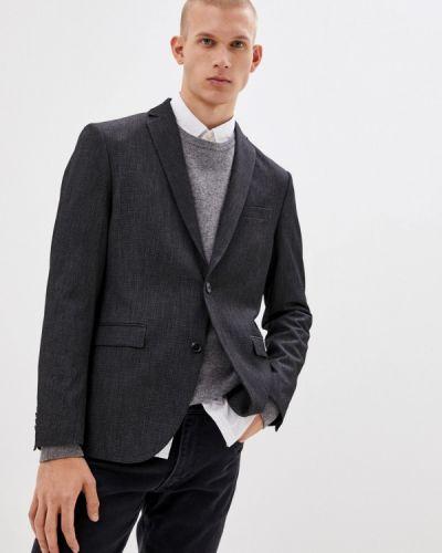 Серый пиджак Sisley
