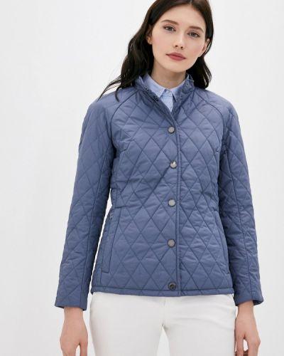 Расклешенная теплая синяя свободная утепленная куртка Finn Flare