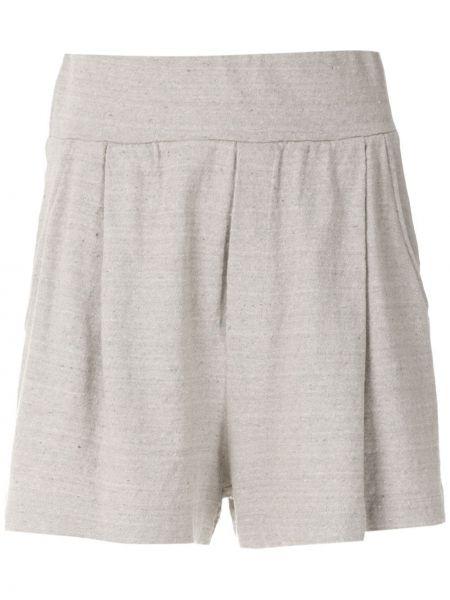Однобортные короткие шорты с карманами Osklen