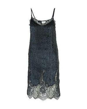 Коктейльное платье синее Semicouture