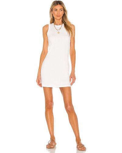 Трикотажное платье - белое Michael Lauren