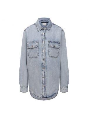 Джинсовая рубашка - голубая Ksubi