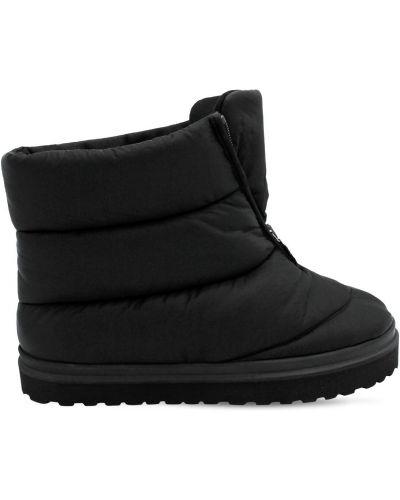 Ботильоны - черные Gia Couture