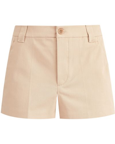 Короткие шорты бархатные классические Redvalentino