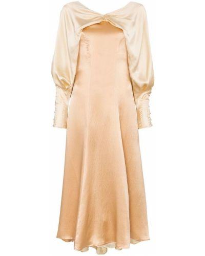 Платье миди макси на пуговицах Rejina Pyo