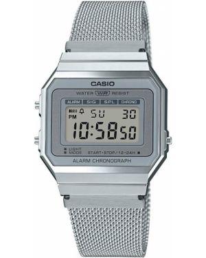 Часы водонепроницаемые с подсветкой винтажные Casio
