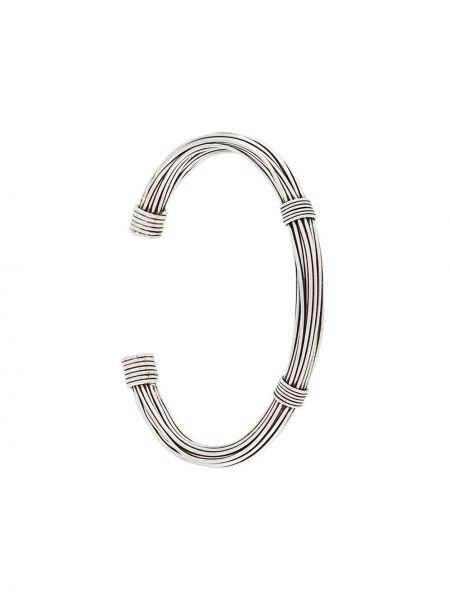 Серебряный браслет без застежки Gas Bijoux